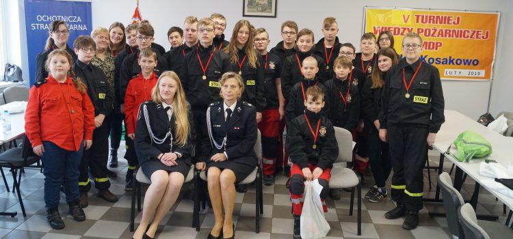 Turniej Wiedzy Pożarniczej  MDP Puck-Kosakowo  23 Luty 2019 r.